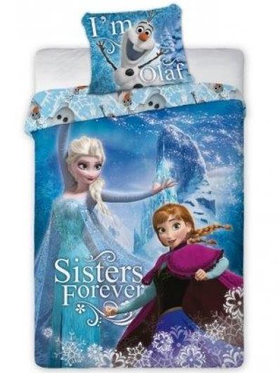 Faro Dětské povlečení Ledové království-Frozen 102 bavlna 140x200 + 70x90 cm