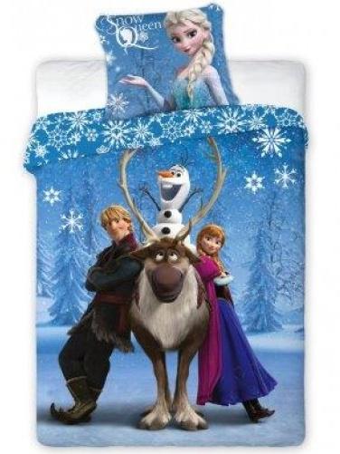 Faro Dětské povlečení Ledové království-Frozen 105 bavlna 140x200 + 70x90 cm