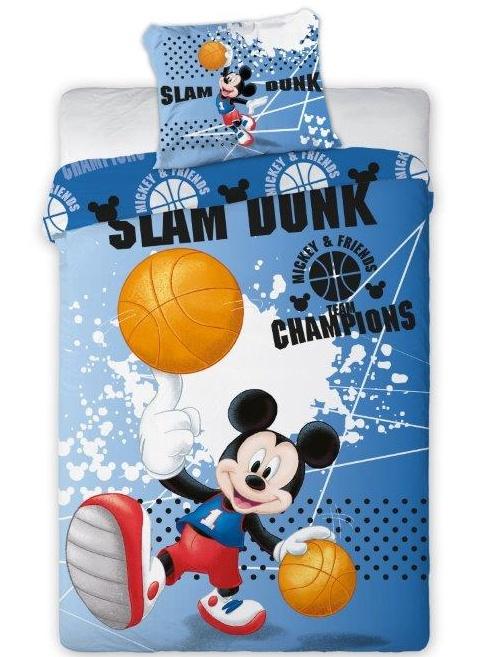 Faro Dětské povlečení Mickey Mouse 050 bavlna 140x200 + 70x90 cm