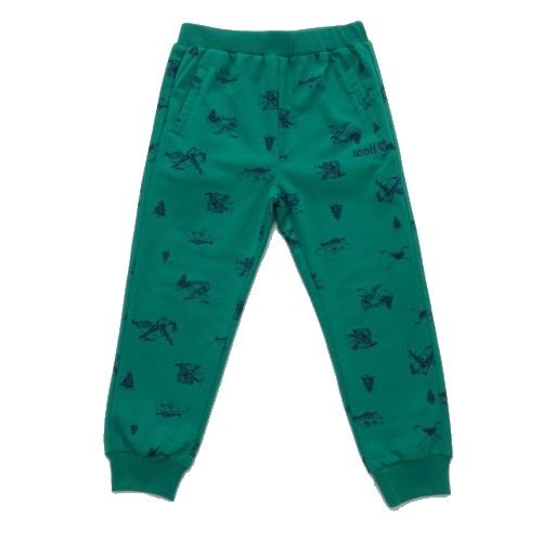 Dětské chlapecké tepláky Wolf T2779b zelené