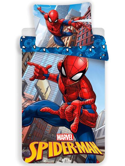 Jerry Fabrics Dětské povlečení Spiderman 04 micro 140x200 + 70x90 cm