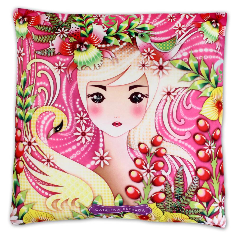 Dětský polštářek Setino 610-074 Catalina Estrada 40x40 cm