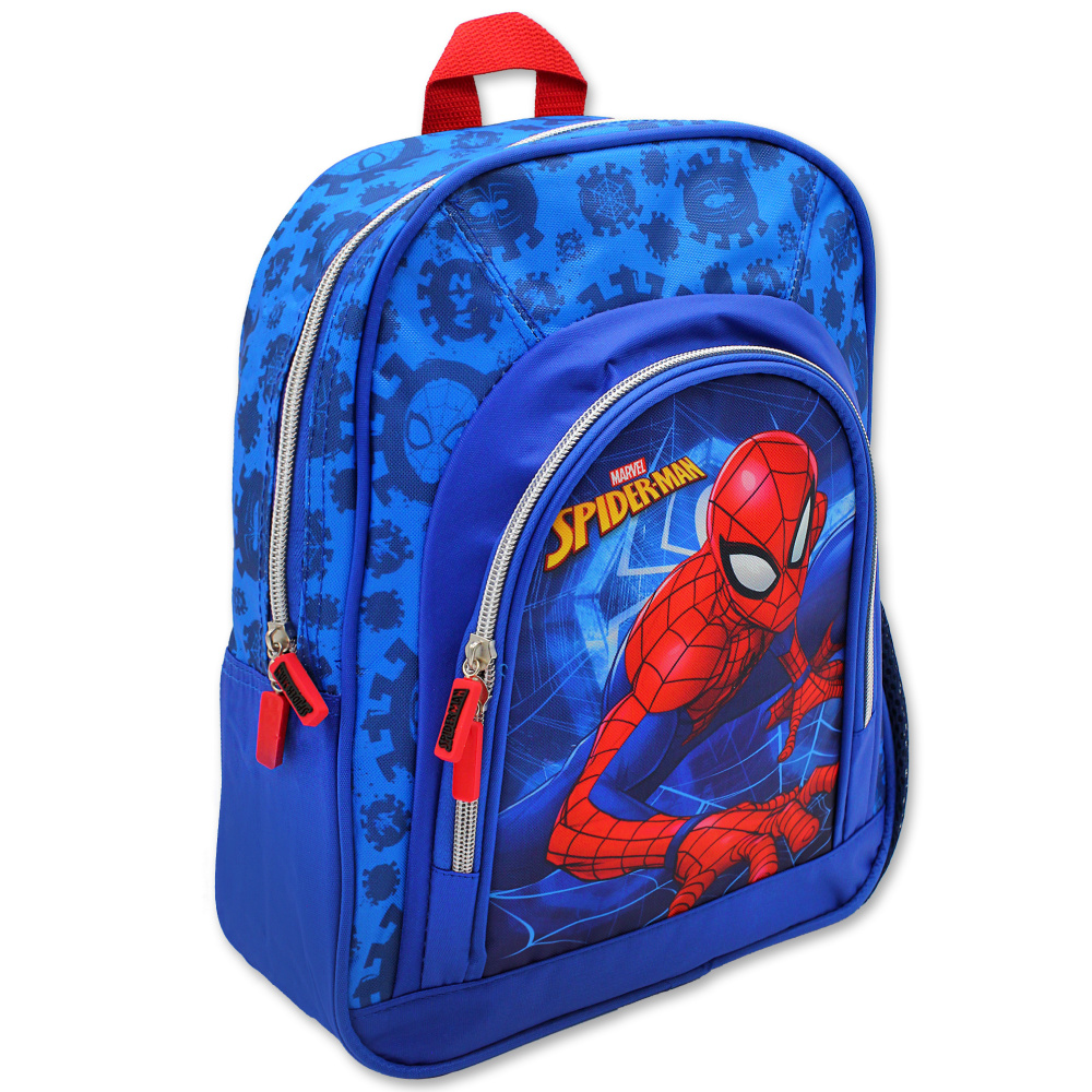 Dětský předškolní batoh Setino 600-651 Spiderman 30x27x11 cm