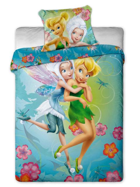 Jerry fabrics Povlečení Fairies 2015 micro polyester 140x200 + 70x90 cm