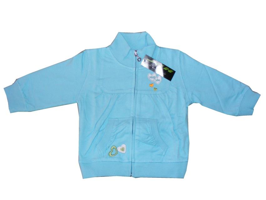 Dětská dívčí mikina Wolf M2046 modrá