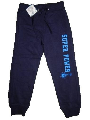Dětské chlapecké tepláky Wolf T2577D Tmavě modré, vel. 98
