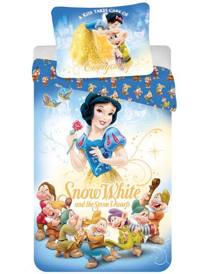 Jerry Fabrics Dětské povlečení Princezna Sněhurka bavlna 140x200 + 70x90 cm