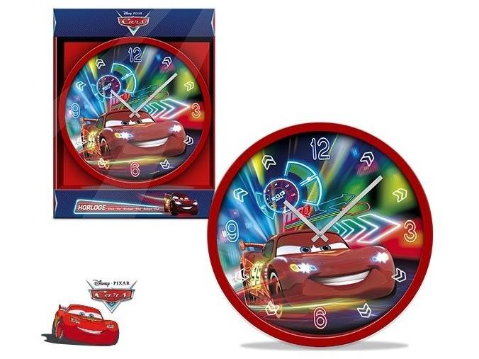 ELI Dětské nástěnné hodiny Cars 25 cm
