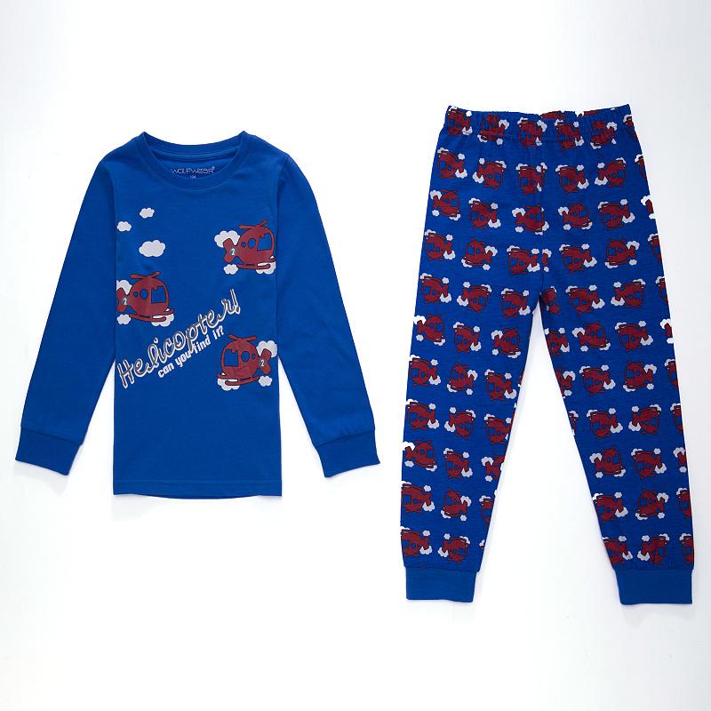 Dětské chlapecké pyžamo Wolf S2654 Tmavě modré, vel. 98