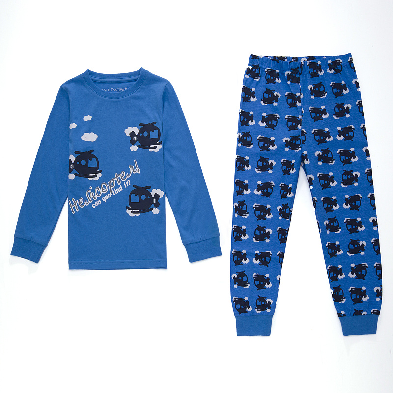 Dětské chlapecké pyžamo Wolf S2654 Světle modré, vel. 98