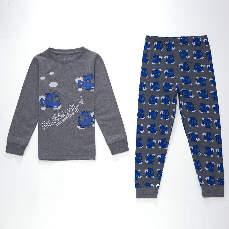 Dětské chlapecké pyžamo Wolf S2654 Šedé, vel. 86