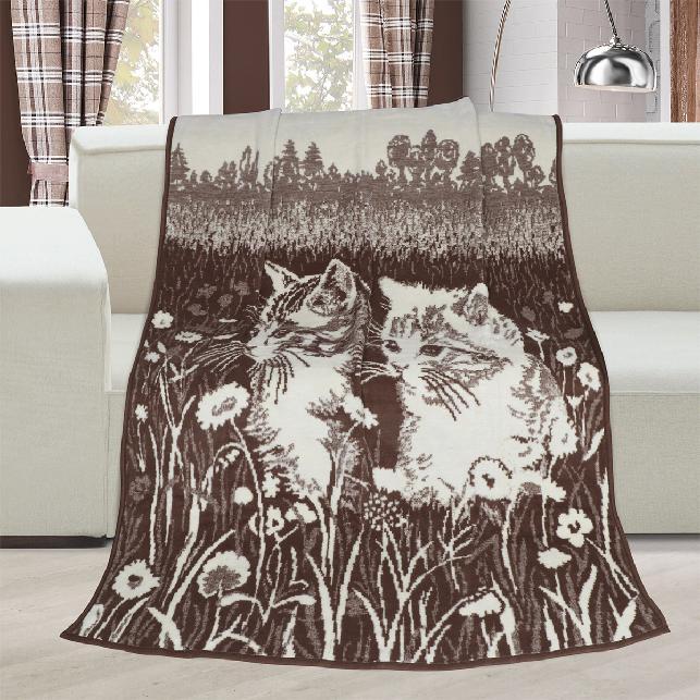 Brotex Deka Karmela jednolůžko 150x200cm koťata