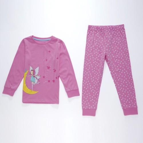 Dětské dívčí pyžamo Wolf S2651 Světle růžové, vel. 98
