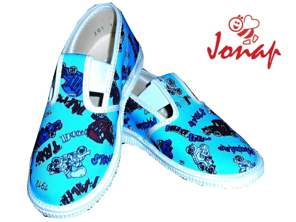 Dětské nazouvací bačkory Jonap 201 301 modré, vel. 34