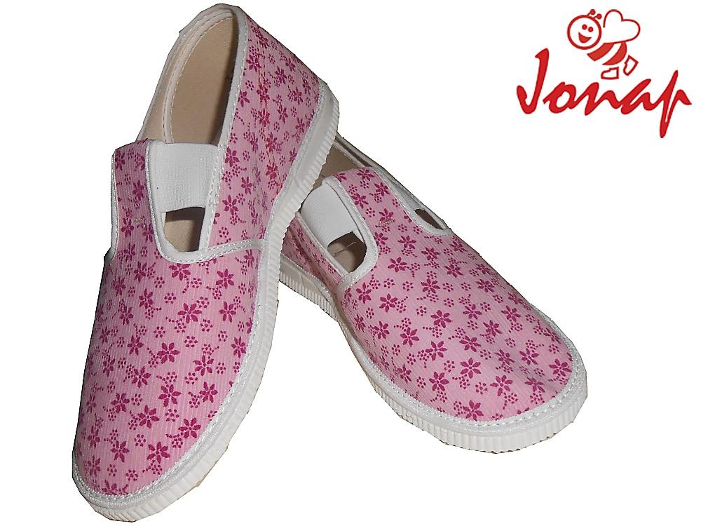 Dětské nazouvací bačkory Jonap 201 301 růžové, vel. 33
