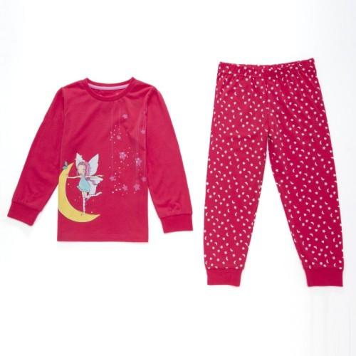 Dětské dívčí pyžamo Wolf S2651 Tmavě růžové, vel. 98