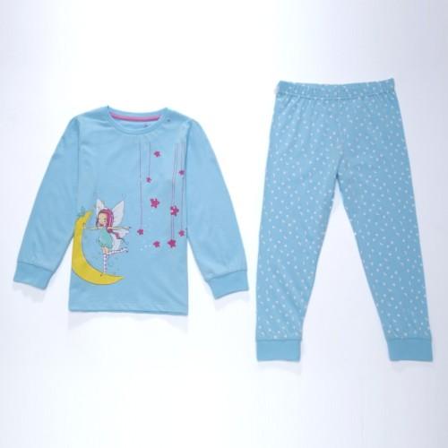 Dětské dívčí pyžamo Wolf S2651 Světle modré, vel. 98