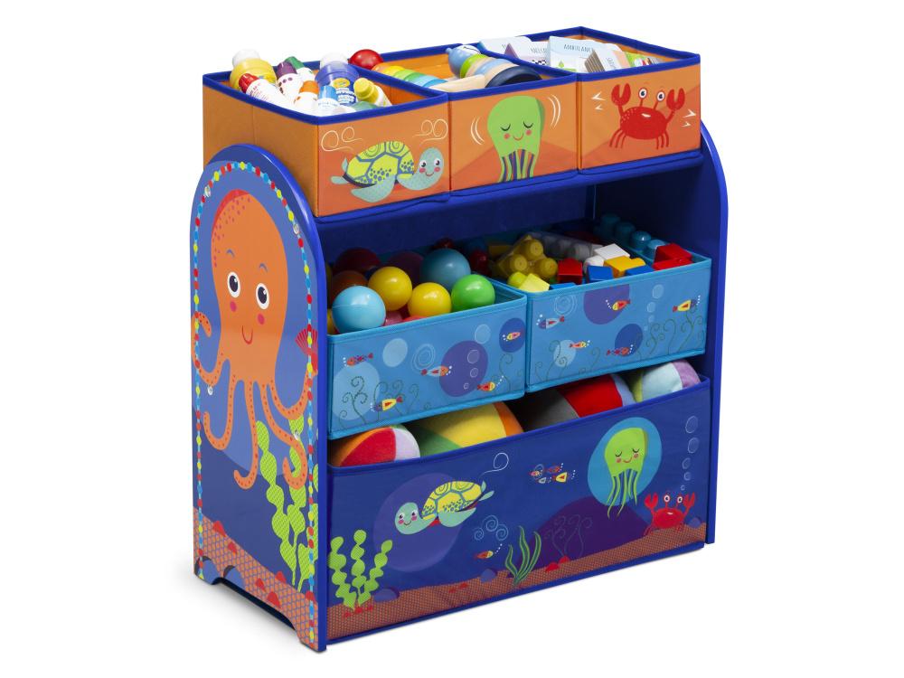 Delta Organizér na hračky Oceán