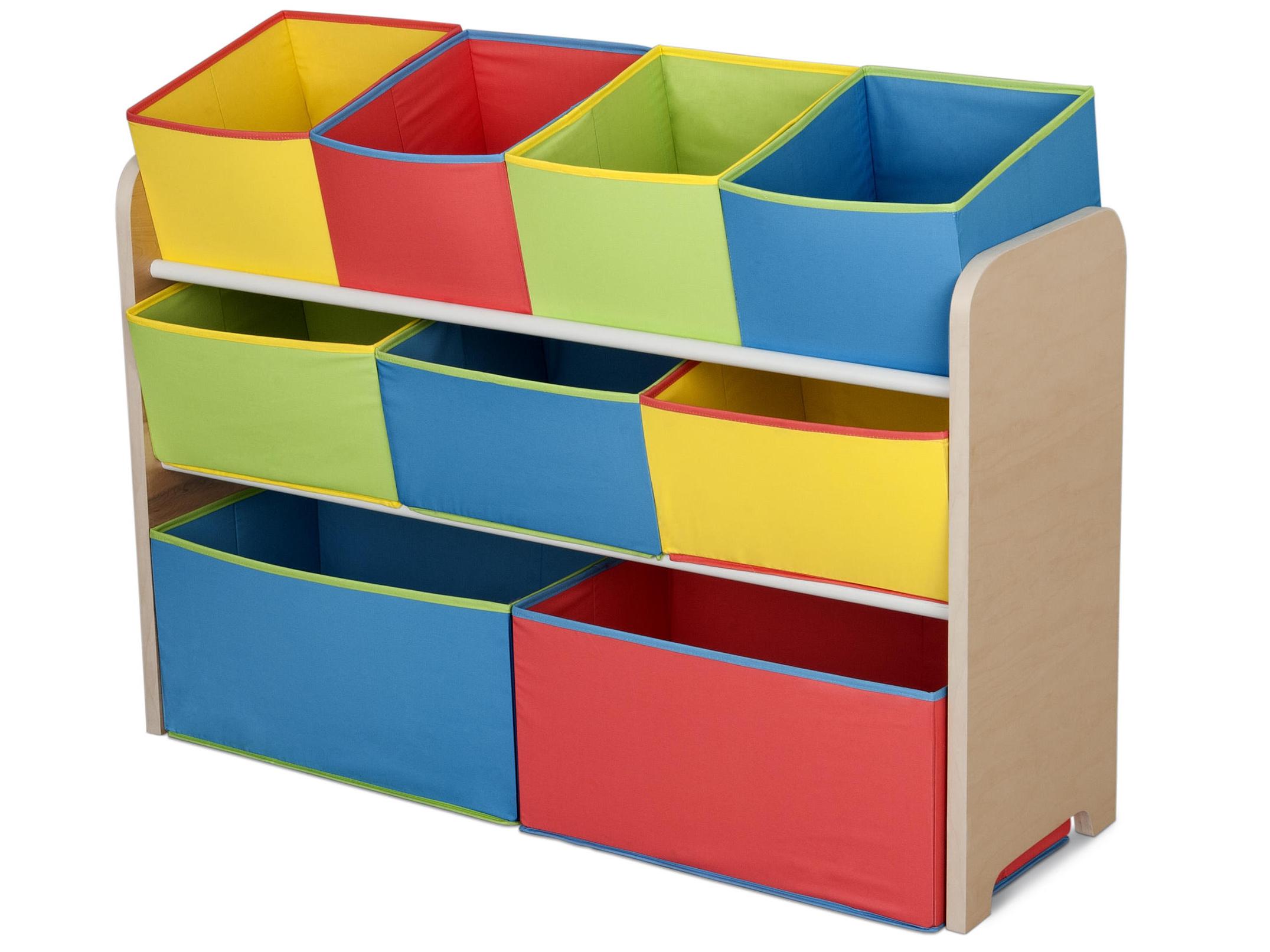 Delta Organizér na hračky multicolor