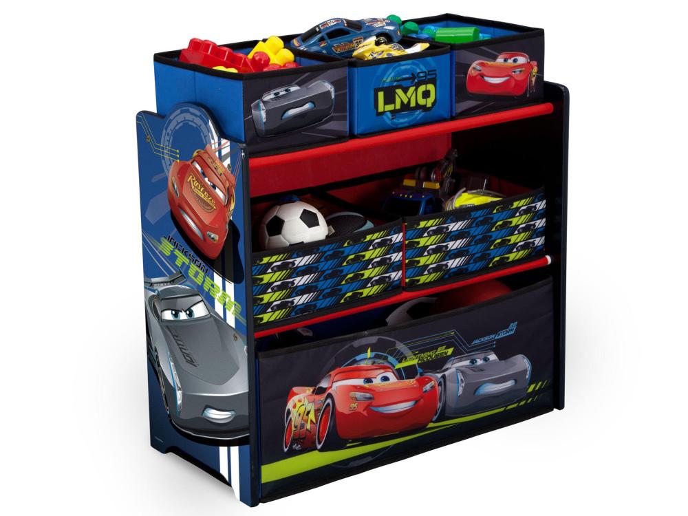 Delta Organizér na hračky Cars-Auta