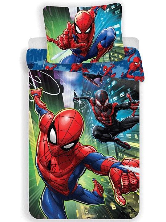 Jerry Fabrics Dětské povlečení Spiderman 05 bavlna 140x200 + 70x90 cm