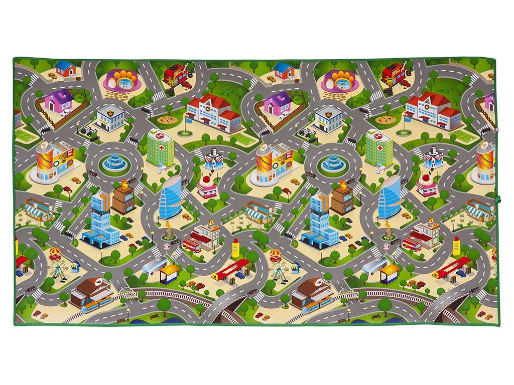 Dětský kobereček Scarlett CITY & MAPA 200x120 cm