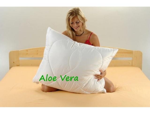 Brotex Písek Polštář Aloe Vera 70x90cm 900g se zipem kuličky UNICO
