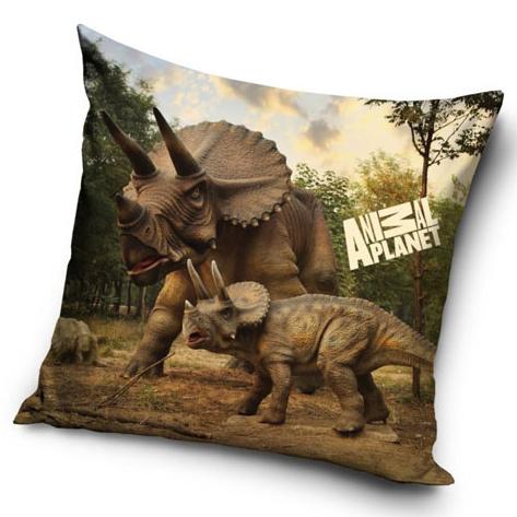 Carbotex Povlak na polštářek Animal Planet Triceratops micro 40x40 cm