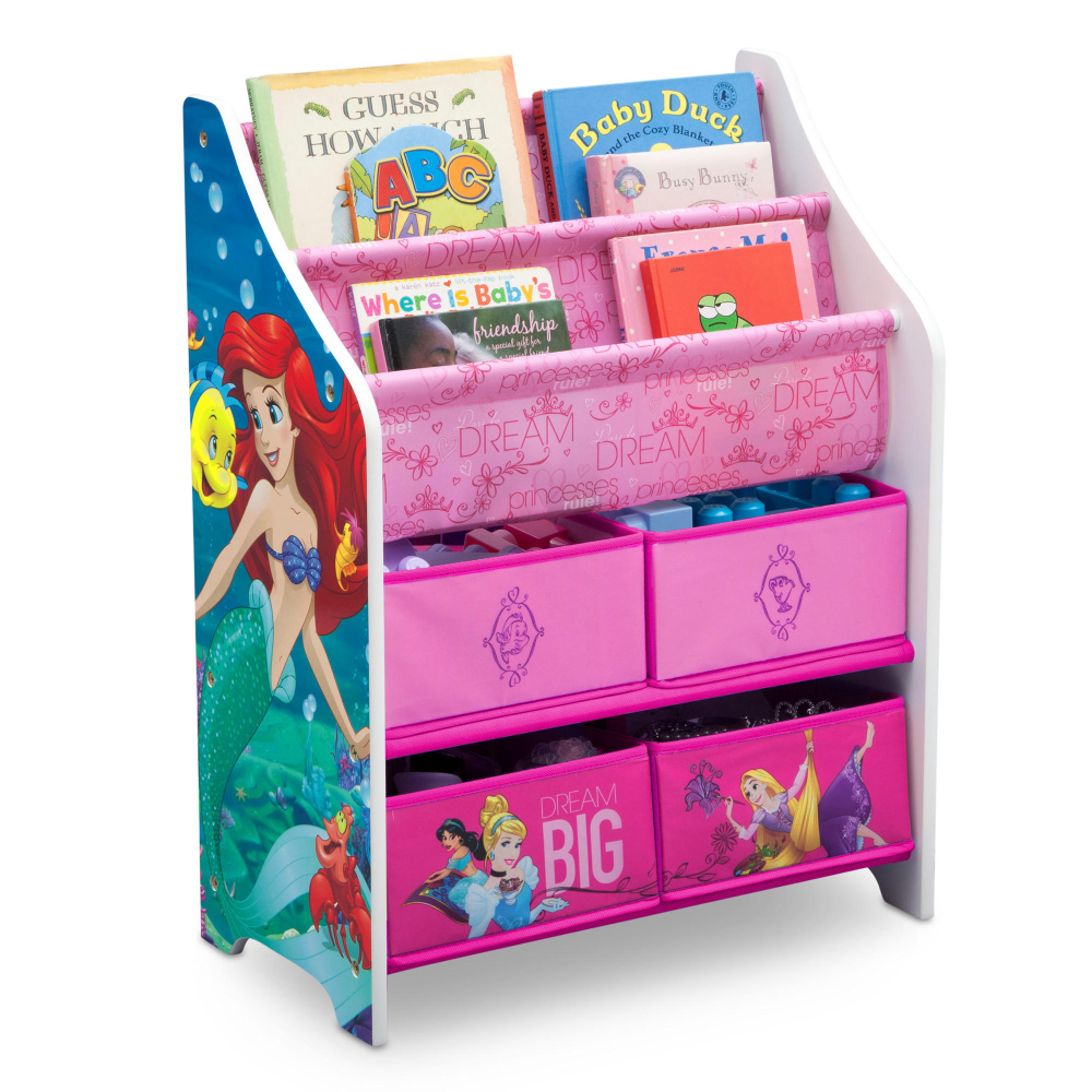 Delta Dětský organizér na hračky Princess
