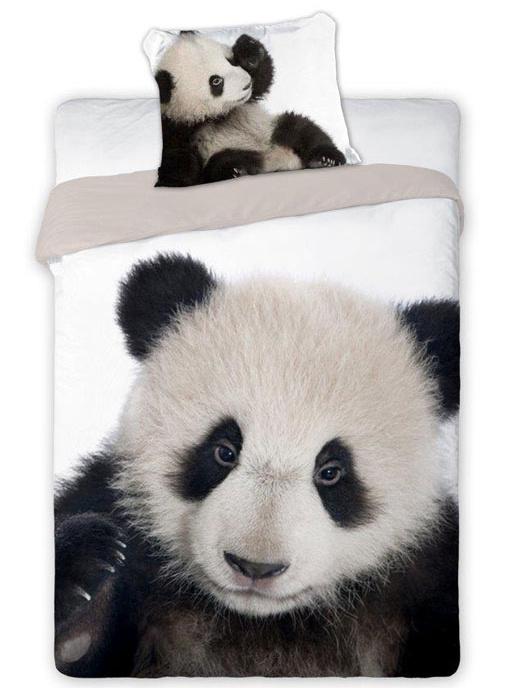 Faro Povlečení Panda bavlna 140x200 + 70x80 cm