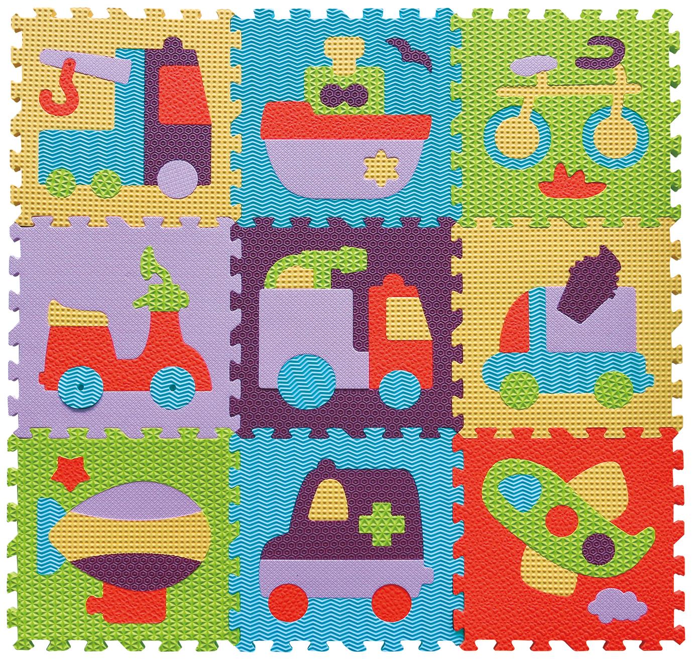 IGRASZKA.S.C. Pěnové puzzle Jezdítka 9 dílků