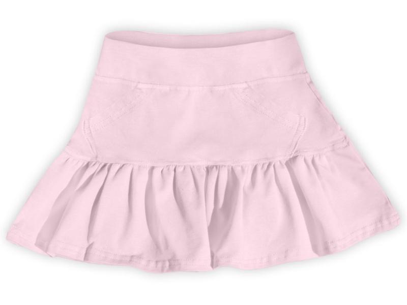 Dětská dívčí bavlněná sukně Jožánek sv. růžová, vel. 134