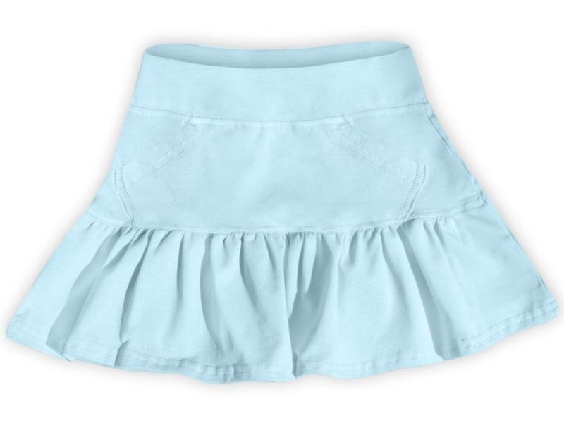Dětská dívčí bavlněná sukně Jožánek sv. modrá, vel. 134