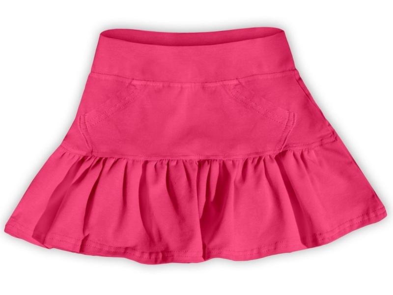 Dětská dívčí bavlněná sukně Jožánek lososově růžová, vel. 134