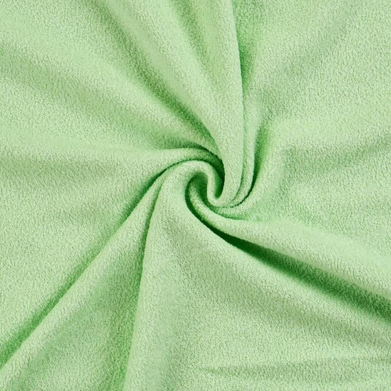 Brotex Písek Froté prostěradlo 90x200 cm, světle zelené