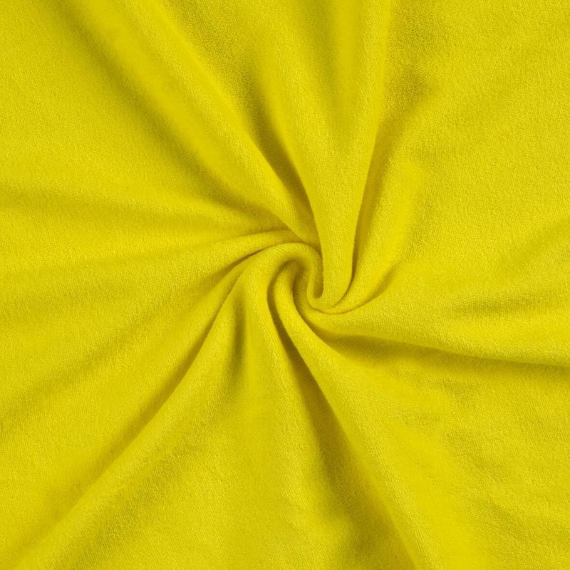 Brotex Písek Froté prostěradlo 90x200 cm, citron