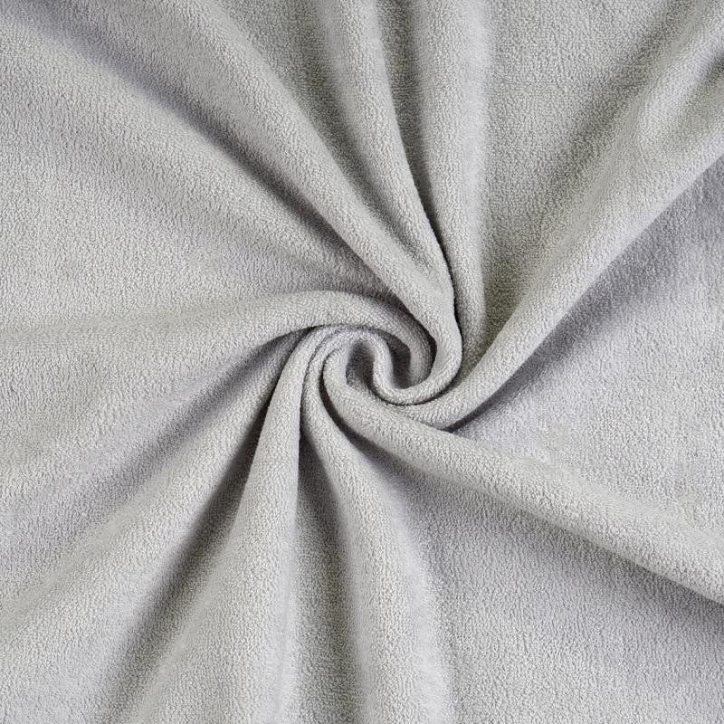 Brotex Písek Froté prostěradlo 90x200 cm, šedé