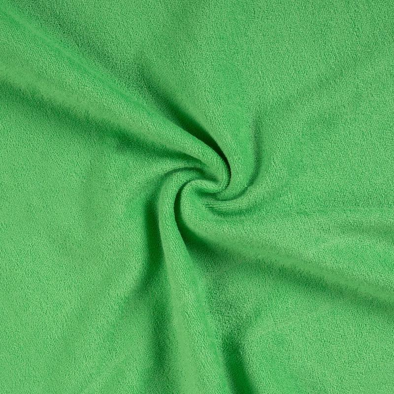Brotex Písek Froté prostěradlo 90x200 cm, zelené