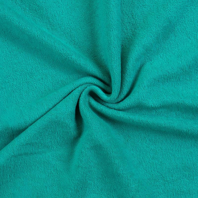 Brotex Písek Froté prostěradlo 90x200 cm, tm. zelené