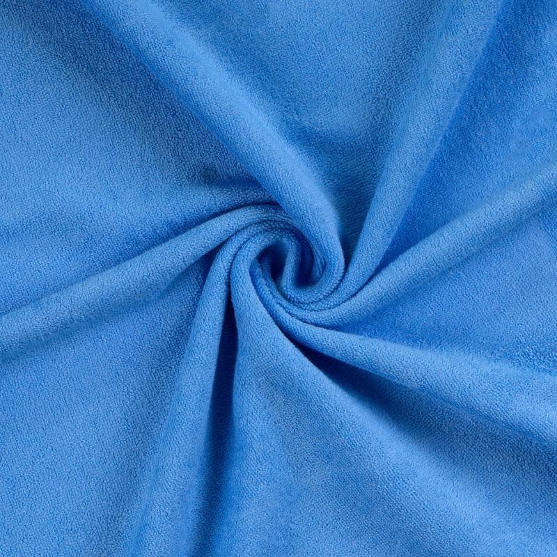 Brotex Písek Froté prostěradlo 90x200 cm, modré