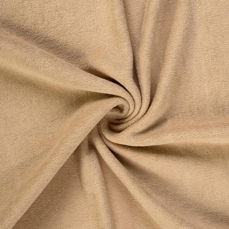 Brotex Písek Froté prostěradlo 90x200 cm, béžové