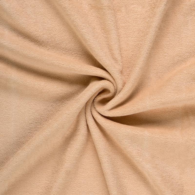 Brotex Písek Froté prostěradlo 90x200 cm, světle béžové