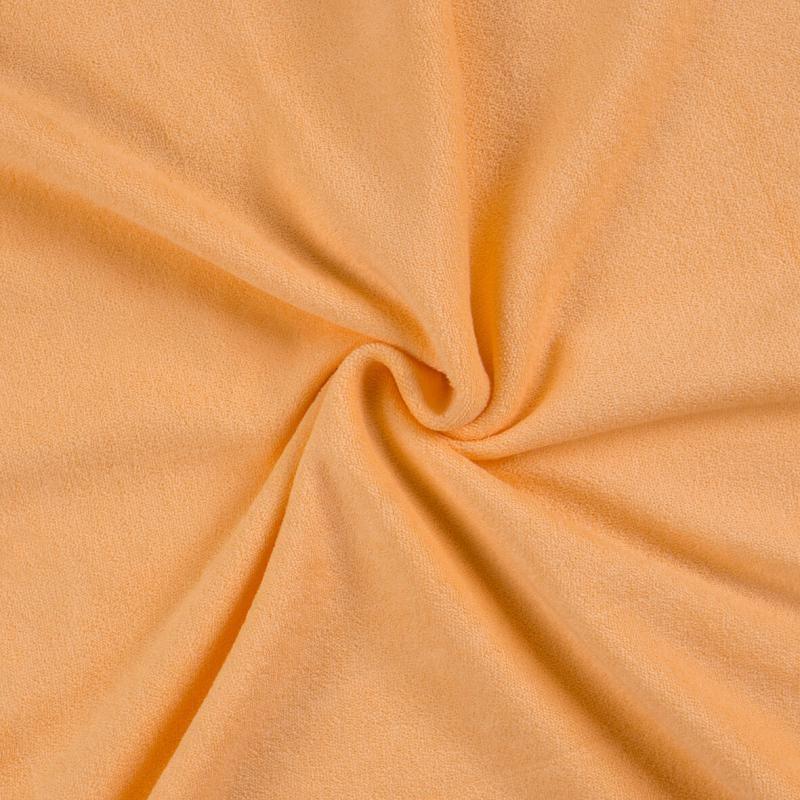 Brotex Písek Froté prostěradlo 90x200 cm, lososové