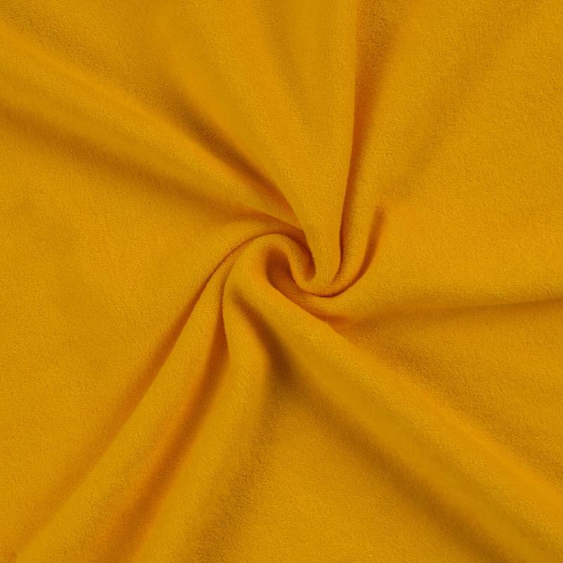 Brotex Písek Froté prostěradlo 90x200 cm, sytě žluté