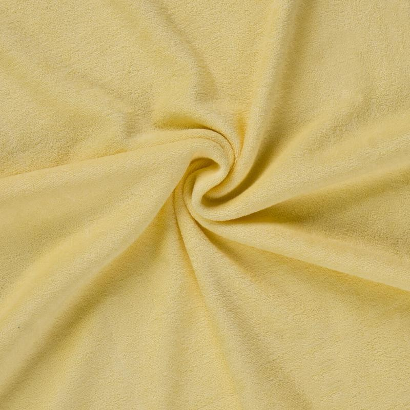 Brotex Písek Froté prostěradlo 90x200 cm, citrus