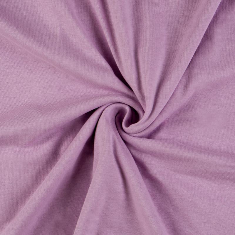Brotex Písek Jersey prostěradlo 90x200 cm, světle fialové