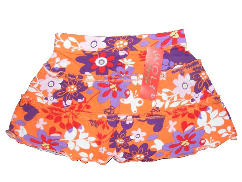 Kojenecká dívčí letní sukně Wolf H2051 Oranžová, vel. 80