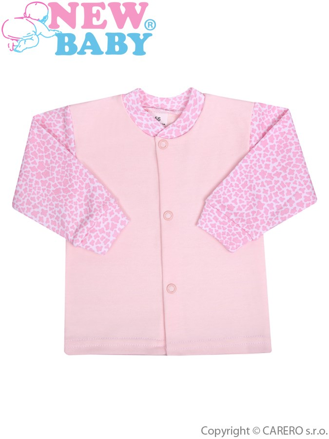 Kojenecký kabátek New Baby Giraffe růžový, vel. 68