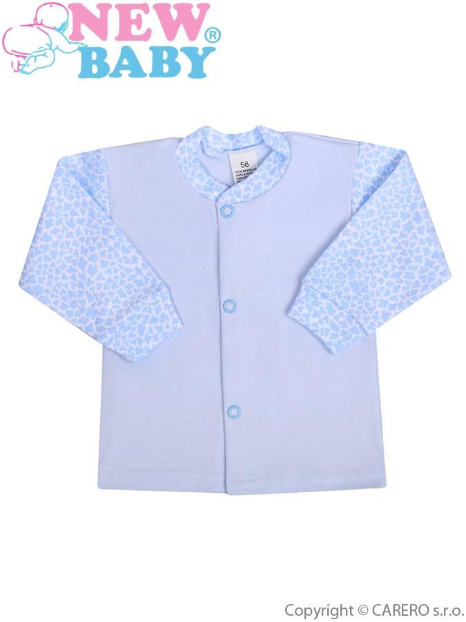 Kojenecký kabátek New Baby Giraffe modrý, vel. 56