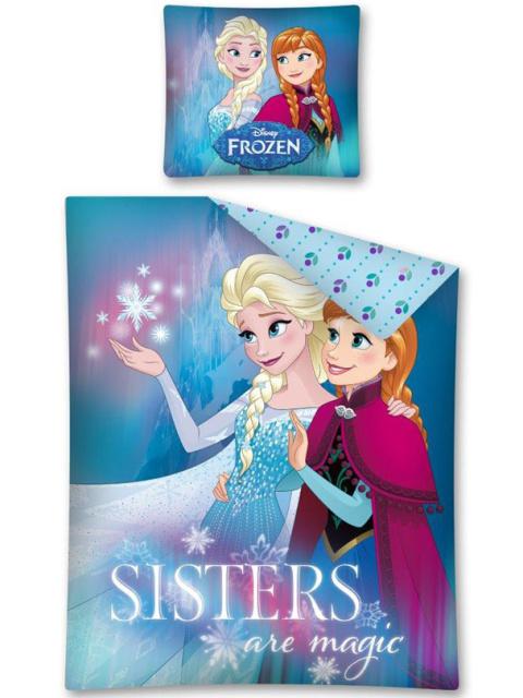 Detexpol Povlečení Ledové Království magické sestry bavlna 140x200 + 70x80 cm